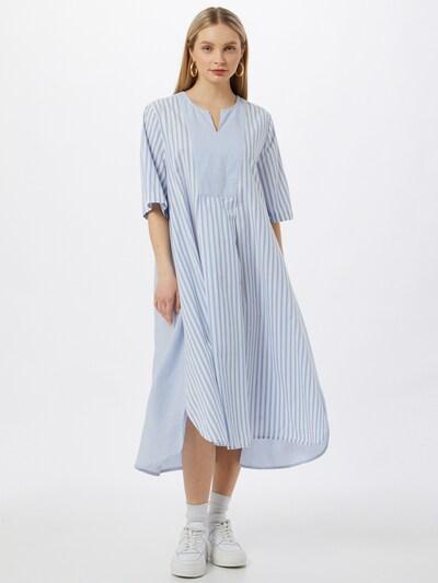Masai Dress 'Natali' in Light blue / White, View model