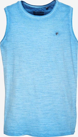 Petrol Industries T-Krekls zils / ciāna zils, Preces skats