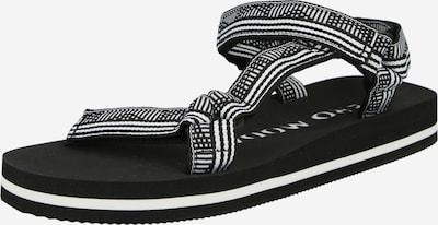 VERO MODA Sandales de randonnée 'KLARA' en noir / blanc, Vue avec produit