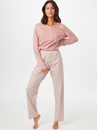 Cotton pyjamas in Navy / Light blue / Pink / White from CALIDA
