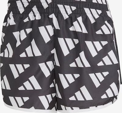ADIDAS PERFORMANCE Shorts 'Marathon 20 Celebration' in schwarz / weiß, Produktansicht
