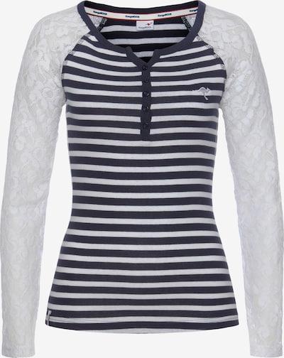 KangaROOS Shirt in marine / weiß, Produktansicht