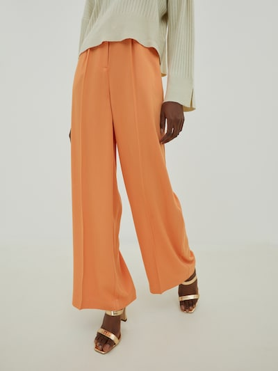 EDITED Trousers with creases 'Kelly' in Orange, View model