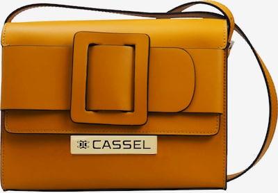 Clay Cassel Schultertasche BELT MEDIUM in gelb / senf, Produktansicht