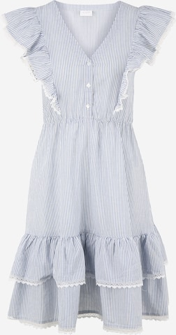 Vila Petite Shirt Dress 'MALIA' in White