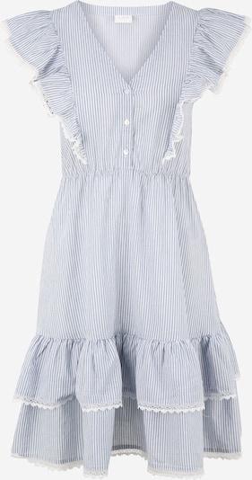 Vila Petite Kleid 'MALIA' in rauchblau / weiß, Produktansicht
