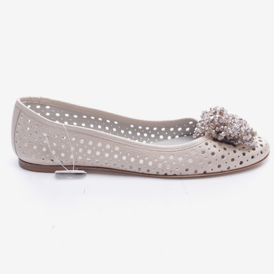 Pertini Flats & Loafers in 39 in Champagne, Item view