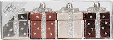 Christmas Goods by Inge Figure/Sculpture 'Geschenkbox' in Brown