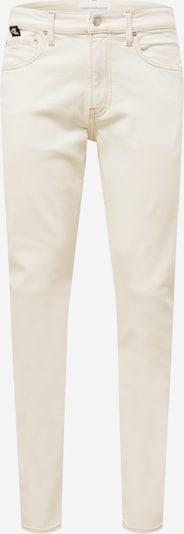 Calvin Klein Jeans Kavbojke | kremna barva, Prikaz izdelka