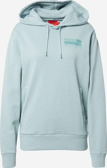 HUGO Sweatshirt 'Dasweater' en jade / hellgrün, Vue avec produit