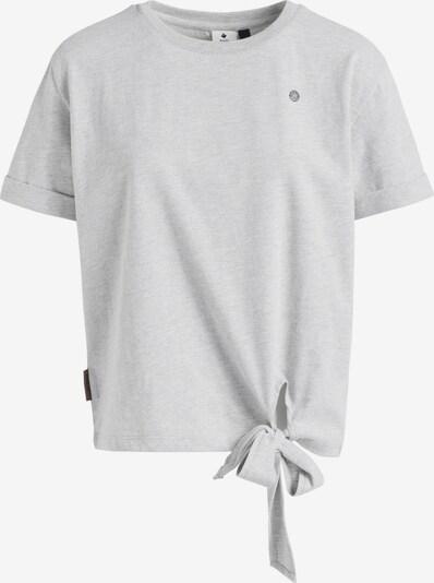 khujo T-Shirt 'AURELIA' in grau, Produktansicht