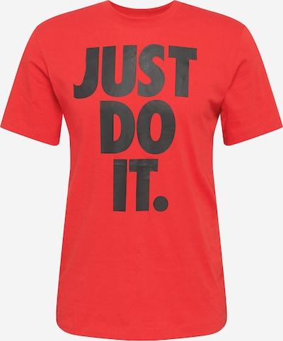 Nike Sportswear T-Krekls, krāsa - sarkans / melns, Preces skats
