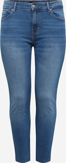 PIECES (Curve) Jeans 'LUNA' in blue denim, Produktansicht