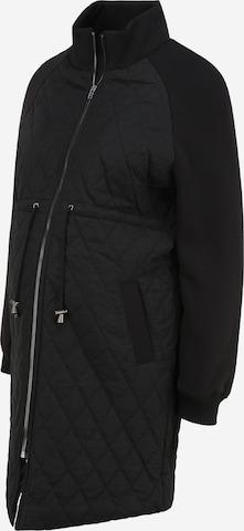 MAMALICIOUS Övergångskappa 'KABELA' i svart