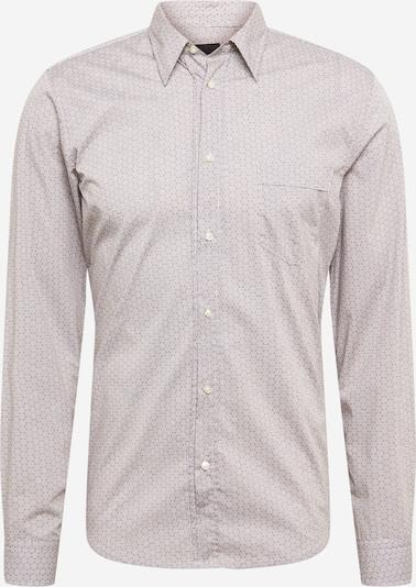 BOSS Casual Paita 'Marvyn' värissä beige / valkoinen: Näkymä edestä