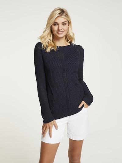 heine Pullover in blau, Modelansicht