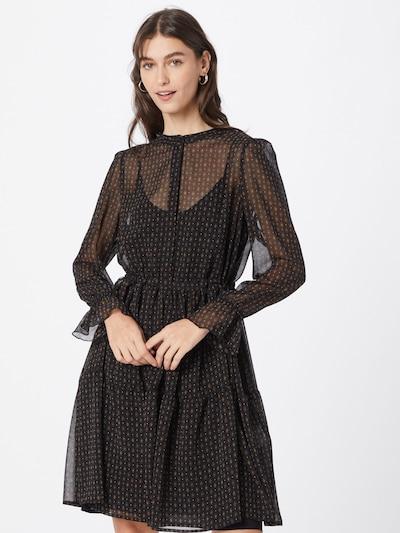 Riani Kleid '186680-3940' in gelb / smaragd / pink / schwarz, Modelansicht