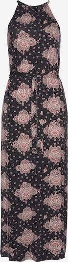 TAMARIS Kleid in koralle / schwarz / weiß, Produktansicht