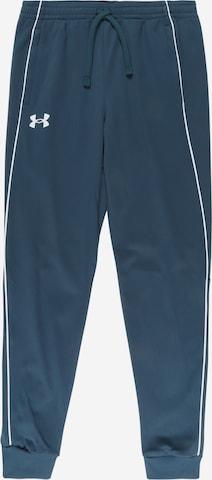 UNDER ARMOUR Sportbyxa 'Pennant' i blå