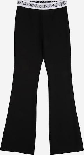 Calvin Klein Jeans Housut värissä musta / valkoinen, Tuotenäkymä
