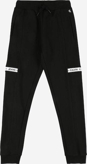 Kelnės iš Calvin Klein Jeans, spalva – juoda / balta, Prekių apžvalga