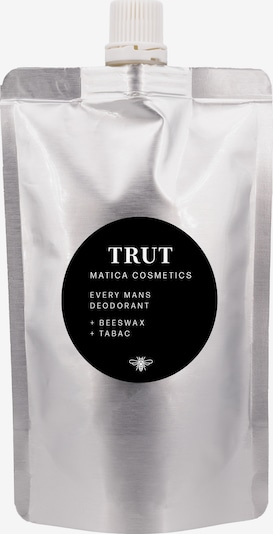 Matica Cosmetics Deodorant 'Trut' in de kleur Zwart / Zilver, Productweergave