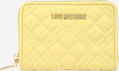 Love Moschino Портмоне в жълто: Изглед отпред