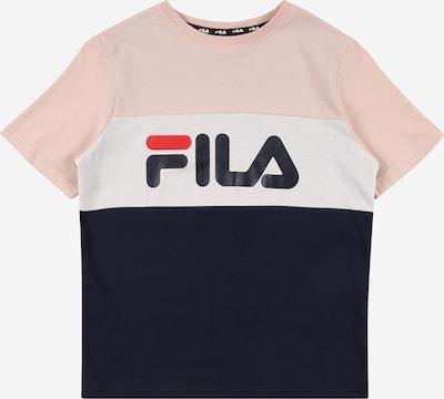 FILA T-Shirt 'MARINA' en rose ancienne / noir / blanc, Vue avec produit