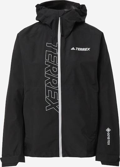 adidas Terrex Jacke in schwarz / weiß, Produktansicht