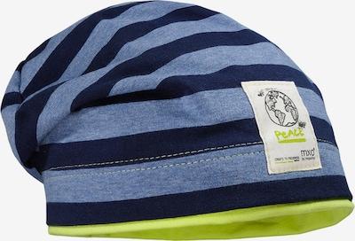 MAXIMO Beanie in blau / dunkelblau, Produktansicht