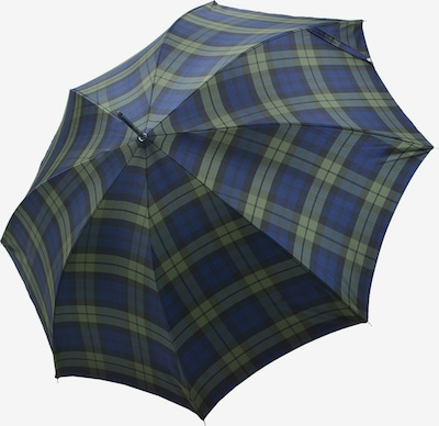 Doppler Manufaktur Regenschrim 'Elegance Classic' in marine / royalblau / grün, Produktansicht