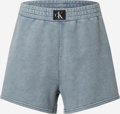 Calvin Klein Swimwear Pyjamasbukser i dueblå, Produktvisning