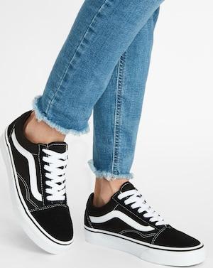 VANS Sneaker 'Old Skool' in nero / bianco