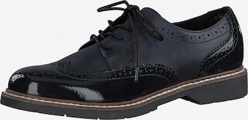 Chaussure à lacets s.Oliver en bleu