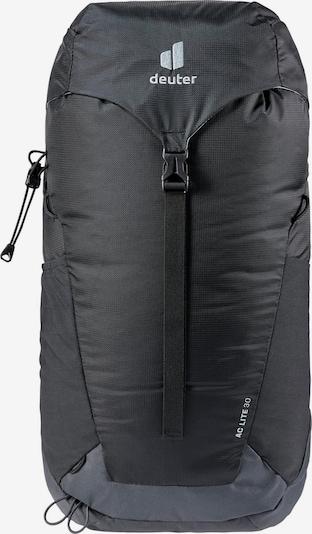 DEUTER Rucksack in graphit / dunkelgrau / weiß, Produktansicht
