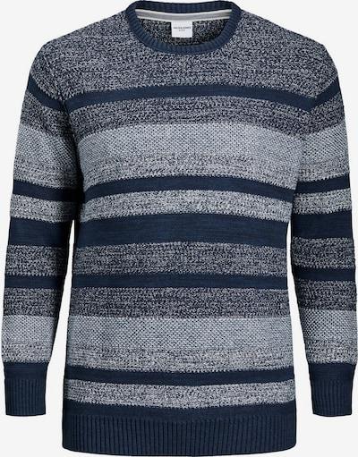 Jack & Jones Plus Pullover in navy / blaumeliert, Produktansicht