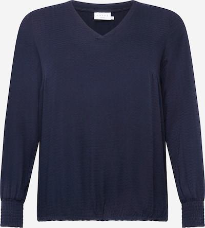 KAFFE CURVE Trui in de kleur Donkerblauw, Productweergave