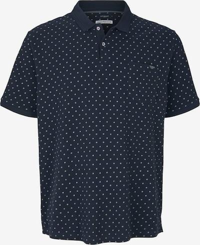 TOM TAILOR Men + Тениска в тъмносиньо / бяло, Преглед на продукта