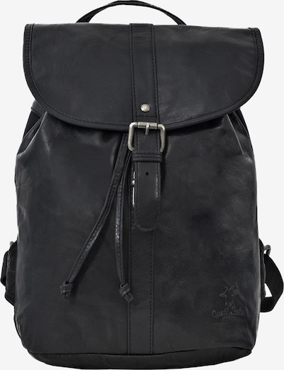 Gusti Leder Cityrucksack Gusti Leder 'Bennett' in schwarz, Produktansicht