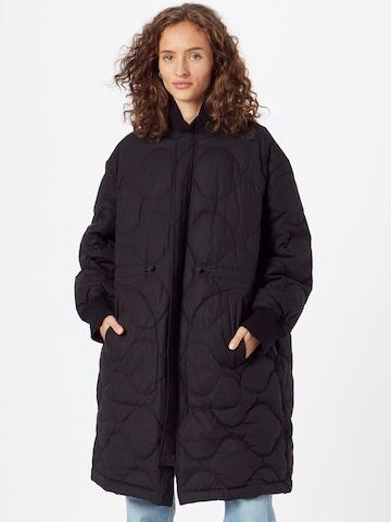 JNBY Ανοιξιάτικο και φθινοπωρινό παλτό σε μαύρο
