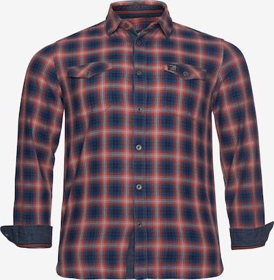 ARIZONA Hemd 'Arizona' in dunkelblau / rot / weiß, Produktansicht