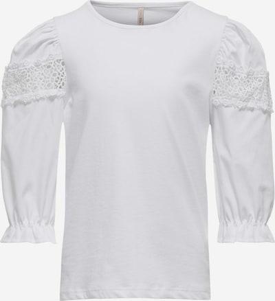 KIDS ONLY T-Shirt 'Lisa' en blanc, Vue avec produit