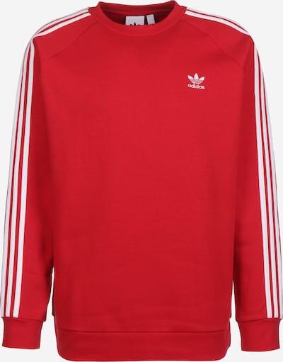 ADIDAS ORIGINALS Sweatshirt '3-Stripes' in rot / weiß, Produktansicht