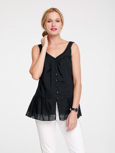 heine Bluza u crna: Prednji pogled