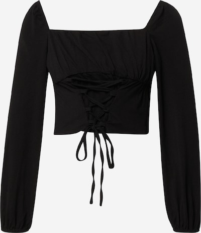GLAMOROUS Camiseta en negro, Vista del producto