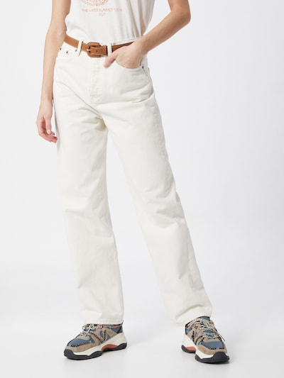 The Kooples Jeans in white denim, Modelansicht