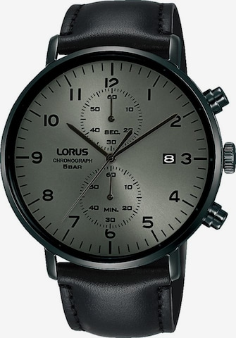 LORUS Uhr in Schwarz