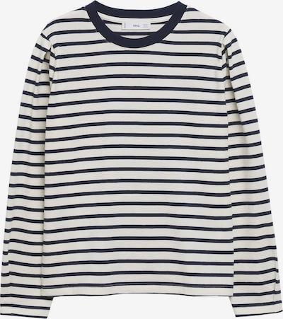 MANGO T-shirt 'LARIN' en bleu marine / blanc, Vue avec produit