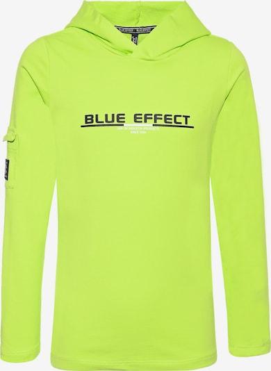 BLUE EFFECT Longsleeve in limette: Frontalansicht