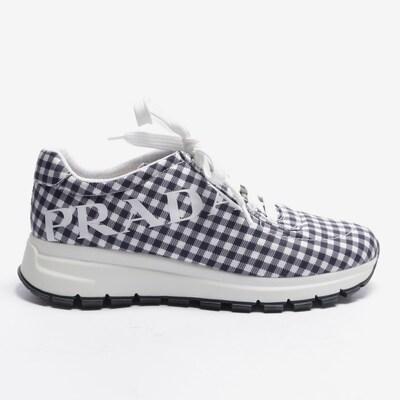 PRADA Turnschuhe / Sneaker in 38,5 in weiß, Produktansicht